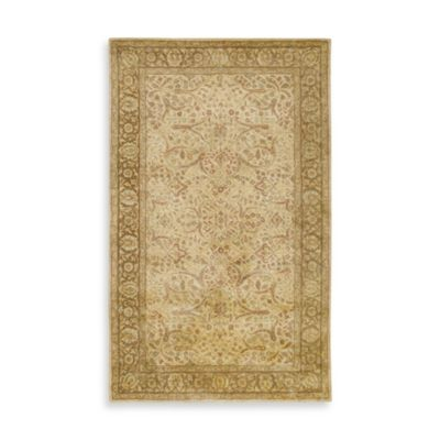 Vintage Gold 2-Foot x 3-Foot Accent Rug
