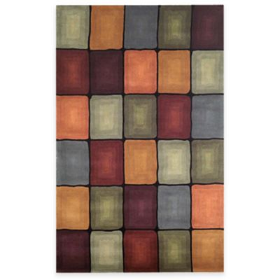 Inspirations Boxes 5-Foot x 8-Foot Room Size Rug