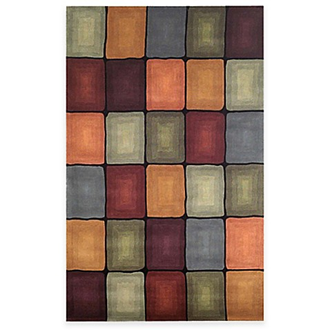 "Inspirations Boxes Multi 24"" x 36"" Accent Rug"