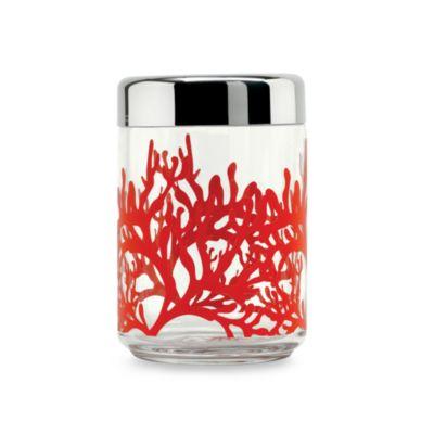 Alessi Mediterraneo Medium Kitchen Glass Box with Hermetic Lid