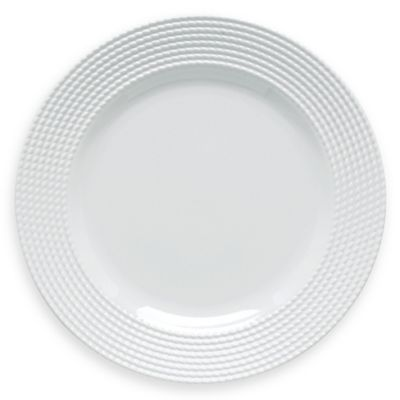 Kate Spade New York White Dinner Plate