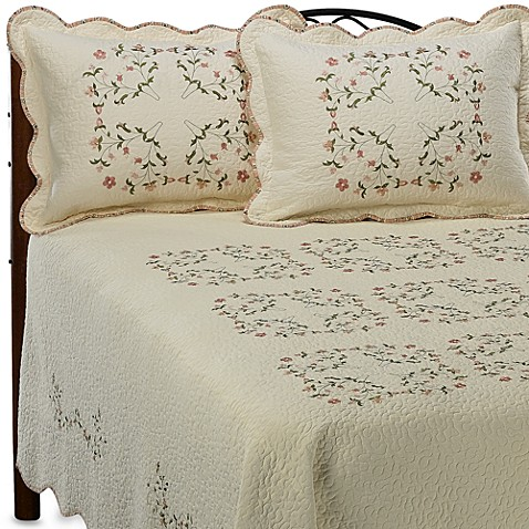 Cheryl Bedspreads, 100% Cotton