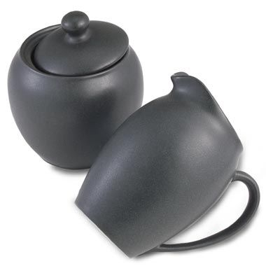 Noritake® Colorwave Graphite Covered Sugar Bowl