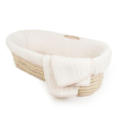 Tadpolesbaby™ Natural Moses Basket