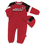 Official NFL Atlanta Falcons Coverall by Reebok - Size 6 to 9 Months