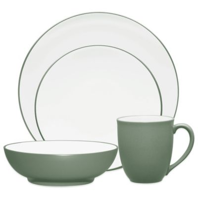 Noritake® Colorwave Coupe Dinnerware 4-Piece Place Setting in Green