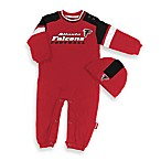 Official NFL Atlanta Falcons Coverall by Reebok - Size 12 Months