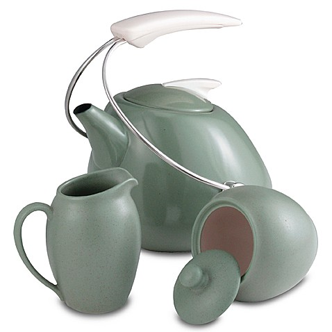 Noritake® Colorwave Green Covered Sugar Bowl