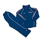 Official NFL New England Patriots Windsuit Set by Reebok - Size 24 Months