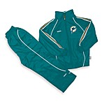 Official NFL Miami Dolphins Windsuit Set by Reebok - Size 24 Months