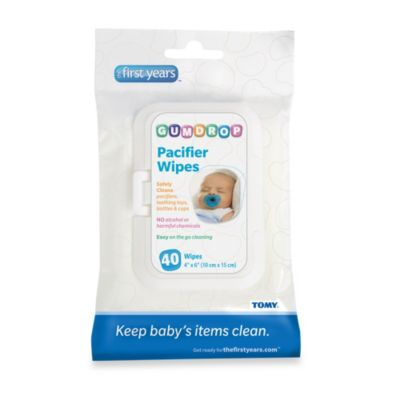The First Years by Tomy On-the-Go 30-Count Pacifier Wipes