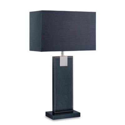 Lite Source Remigio Black Table Lamp with Black Shade