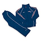 Official NFL New England Patriots Windsuit Set by Reebok - Size 2