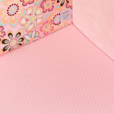 Kathy Ireland Home Sweetie Pink Crystals Fitted Crib Sheet by Thank You Baby100% Cotton
