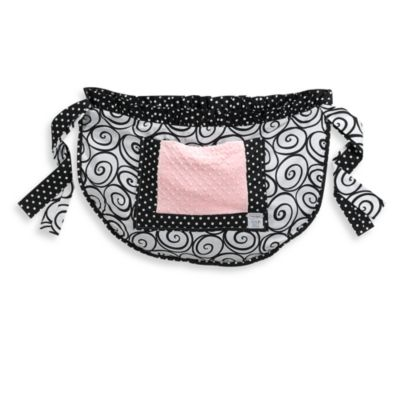 Kathy Ireland Pink Baby Bag