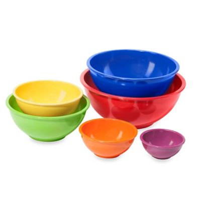 6-Piece Mixing Bowl Set
