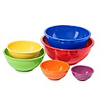Melamine 6-Piece Mixing Bowl Set
