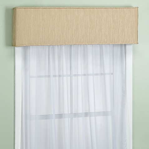 Nicole Buff Window Cornice