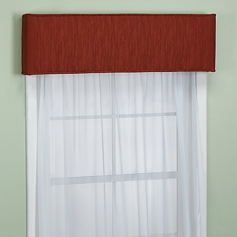 Nicole 40-Inch Window Cornice in Mahogany
