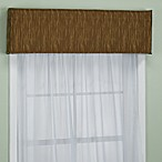 Nicole 40-Inch Window Cornice in Saddle