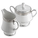 Noritake® Crestwood Platinum Covered Sugar Bowl