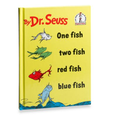 Dr. Seuss' One FishTwo FishRed Fish. Blue Fish