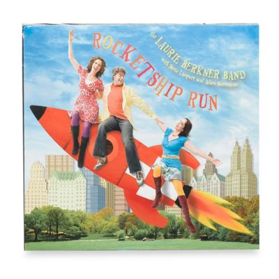The Laurie Berkner Band's Rocketship Run CD