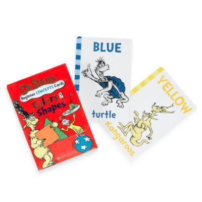 Dr. Seuss' Learning Cards: Colors & Shapes