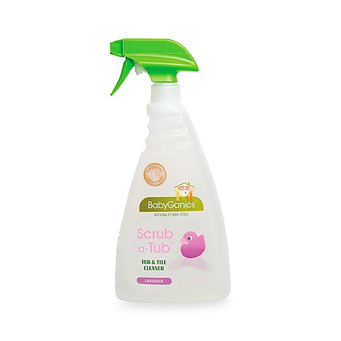 BabyGanics® 32-Ounce Lavender Tub & Tile Cleaner