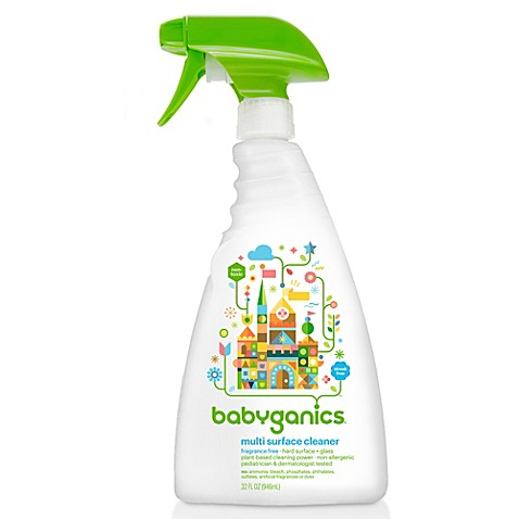 BabyGanics® Fragrance Free 32-Ounce All-Purpose Cleaner