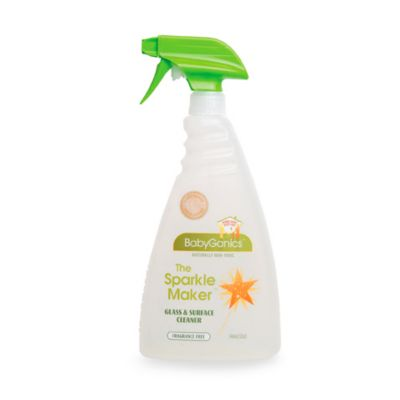 BabyGanics® Fragrance Free 32-Ounce Glass Cleaner