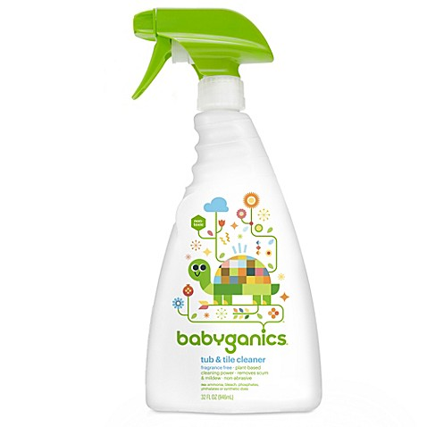 BabyGanics® Fragrance Free 32-Ounce Tub & Tile Cleaner
