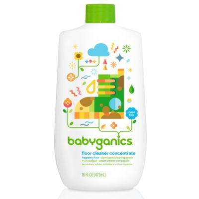 BabyGanics® Floors to Adore Fragrance Free 16-Ounce Floor Cleaner