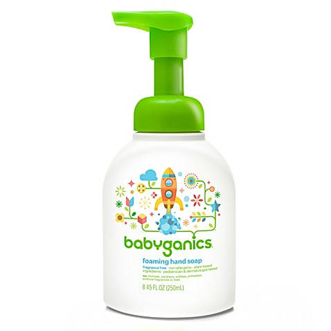 BabyGanics® Fragrance Free 8.45-Ounce Foaming Hand Soap