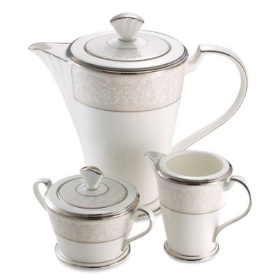 Noritake® Silver Palace Covered Sugar Bowl