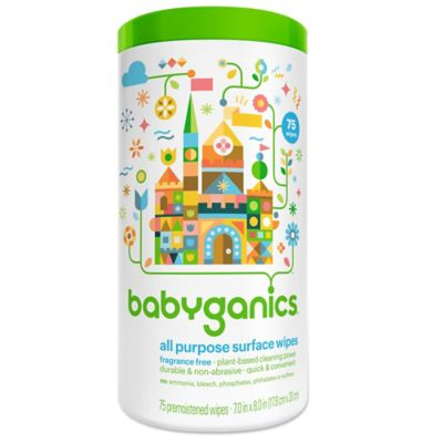 BabyGanics® 75-Count All-Purpose Wipes