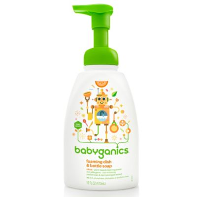 Cleaning Products > BabyGanics® 18.6-Ounce Citrus Dish Soap