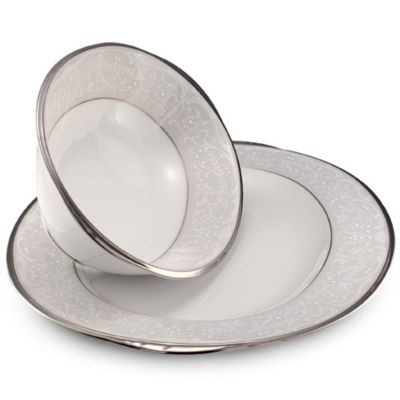 Noritake® Silver Palace 32-Ounce Vegetable Bowl