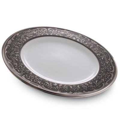 Noritake® Silver Palace 9-Inch Accent Plate