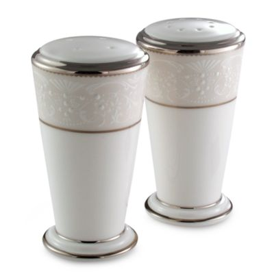 Noritake® Silver Palace Salt and Pepper Set