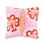 Amy Butler Valencia Pleated 18-Inch Square Toss Pillow