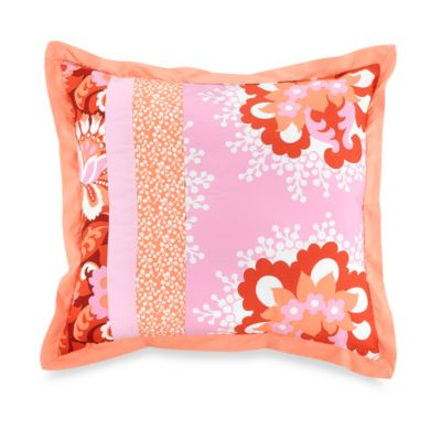 Amy Butler Valencia 18-Inch Square Toss Pillow