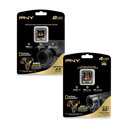 PNY® Optima™ Secure Digital™ Memory Card