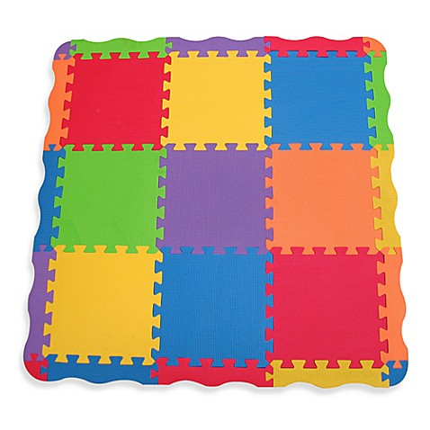 buy edushape 174 edutile 25 play mat from bed bath