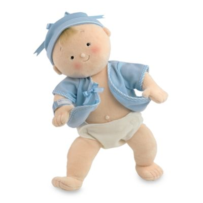 North American Bear Co. Rosey Cheeks™ Blonde Baby Boy Doll