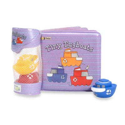 iBaby® Float Alongs™ Tiny Tugboats Bath Playset