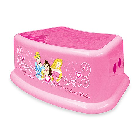 Ginsey Disney Princess Step Stool