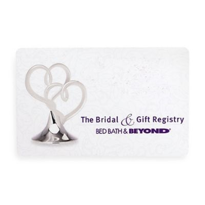 """The Bridal & Gift Registry"" Hearts Gift Card $25"