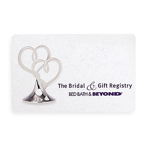 The bridal gift registry hearts gift card 50 bed for Best stores for wedding registry