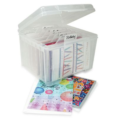 Christmas Clear Storage Boxes